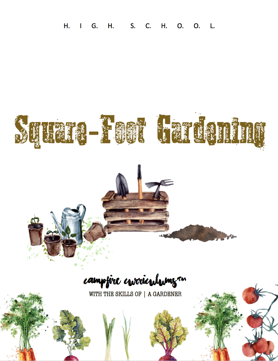 With the Skills of | A Gardener – Square Foot Gardening (COMING SOON!)